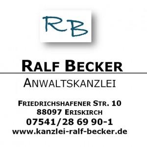 Rechtsanwalt  Ralf Becker